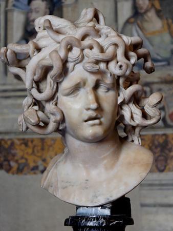 Head of Medusa, 1630 by Gianlorenzo Bernini