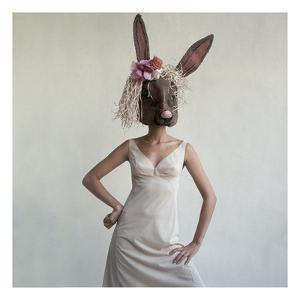 Vogue - February 1965 - Bunny Mask by Gianni Penati