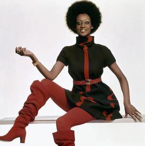 Vogue - November 1969 - Bill Blass Turtleneck Dress by Gianni Penati