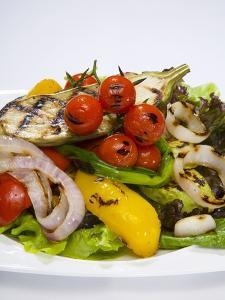 Mixed Salad with Grilled Vegetables by Giannis Agelou