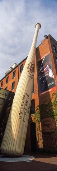 Giant Baseball Bat Adorns Outside of the Louisville Slugger Museum and Factory, Louisville--Photographic Print