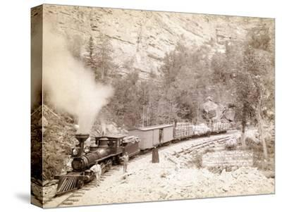 'Giant Bluff' Elk Canyon on Black Hills and Ft. P. Railroad, 1890