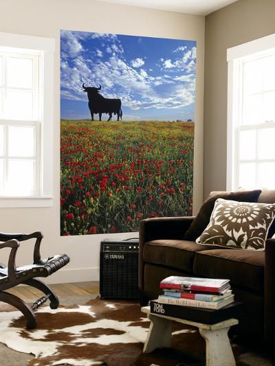 Giant Bull, Toros de Osborne, Andalucia, Spain-Gavin Hellier-Giant Art Print