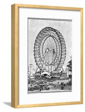 Giant Ferris Wheel, International Exhibition, Chicago, 1893