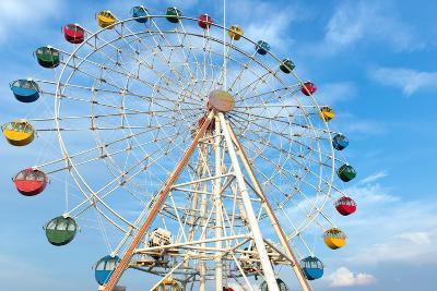 Giant Ferris Wheel-Kenishirotie-Photographic Print