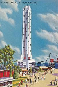 Giant Havoline Thermometer