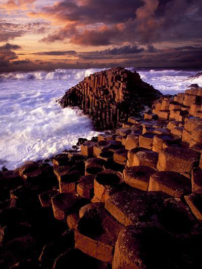 Giant's Causeway in Northern Ireland-Chris Hill-Photographic Print