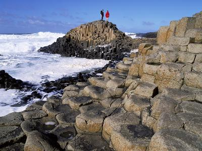 Giant's Causeway on the North Coast of Northern Ireland-Chris Hill-Photographic Print
