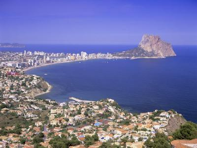 Giant Sea Rock, Penon De Ifach, Calpe, Costa Blanca, Valencia, Spain, Europe-Gavin Hellier-Photographic Print