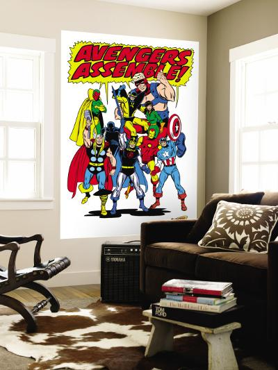 Giant-Size Avengers/Invaders No.1 Group: Thor-Sal Buscema-Wall Mural