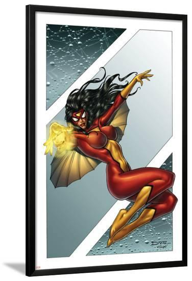 Giant-Size Spider-Woman No.1 Cover: Spider Woman-Andrea Di Vito-Lamina Framed Poster