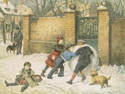 Giant Snowball-William Weekes-Giclee Print