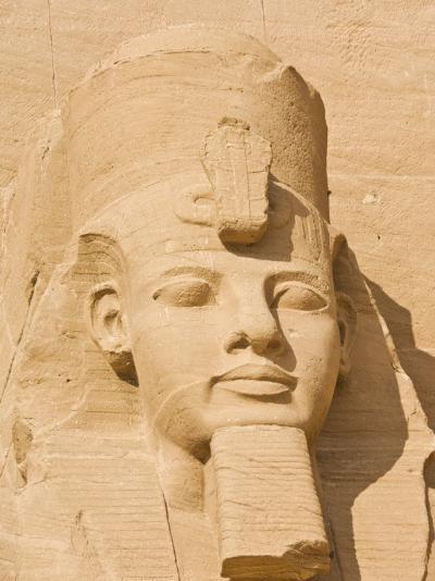 Giant Statue of the Great Pharaoh Rameses Ii, Temple Rameses Ii at Abu Simbel, Egypt-Neale Clark-Photographic Print