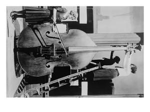 Giant Violin, the over 12 Feet Tall