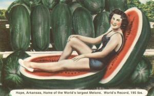 Giant Watermelon with Bathing Beauty