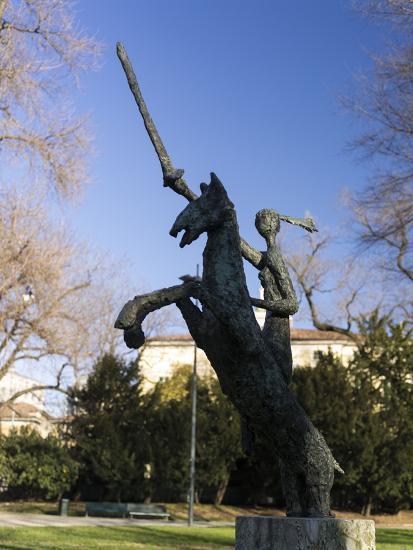 Giardini Pubblici Indro Montanelli in Milan-enricocacciafotografie-Photographic Print