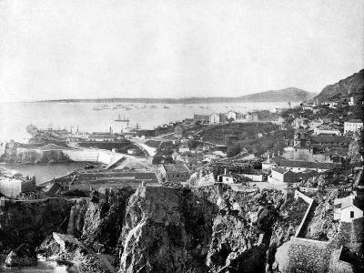 Gibraltar, 1893-John L Stoddard-Giclee Print