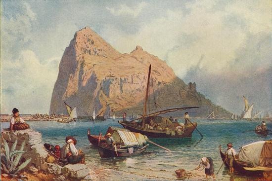 Gibraltar, 1905-Unknown-Giclee Print