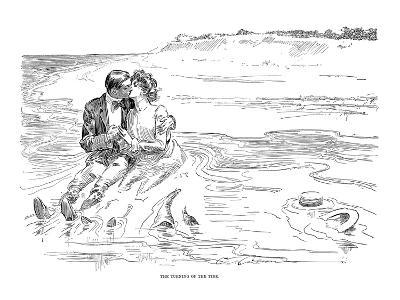 Gibson: Turning Tide, 1901-Charles Dana Gibson-Giclee Print