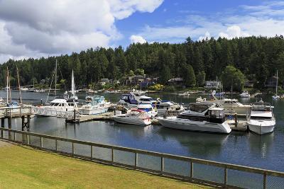 Gig Harbor Marina, Tacoma, Washington State, United States of America, North America-Richard Cummins-Photographic Print