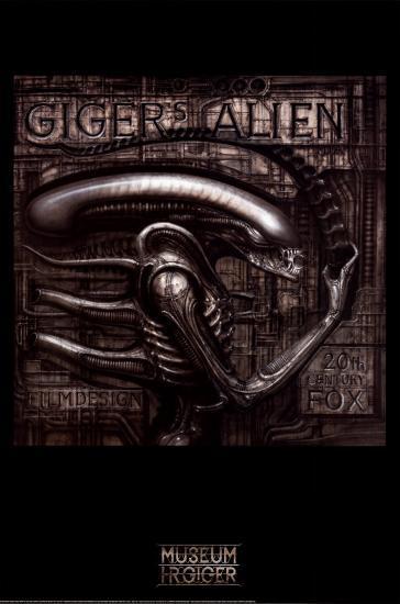 Giger's Alien-H^ R^ Giger-Poster