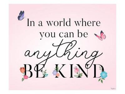 Be Kind Butterflies