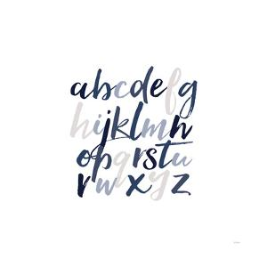 Boy Lower Letters by Gigi Louise