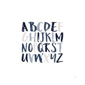 Boy Upper Letters by Gigi Louise