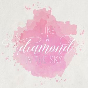 Diamond Sky Pink by Gigi Louise