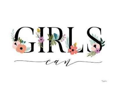 Girls Can Floral 2