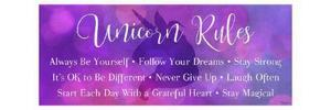 Unicorn Rules by Gigi Louise