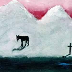 Donkey and Cross, 2003 by Gigi Sudbury