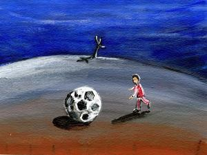 I Found a Great Big Football, 2005 by Gigi Sudbury