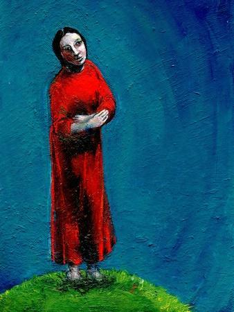 Study for the Mother of Christ after the Crucifixion, 2004