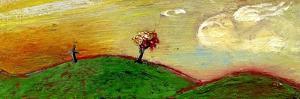 Tree and Cross, Sunset, 2003 by Gigi Sudbury
