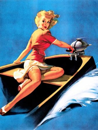 See Worthy Pin-Up 1944