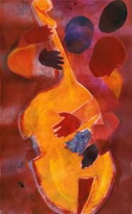 Double Bass, Triple Head by Gil Mayers