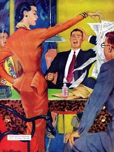 "Petticoat Empire - Saturday Evening Post ""Men at the Top"", May 26, 1951 pg.22 by Gilbert Bundy"