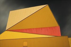 The Yellow Roof by Gilbert Claes