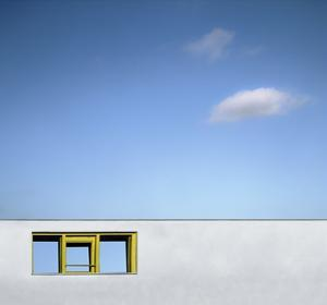 Yellow Window by Gilbert Claes