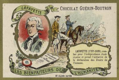 Gilbert Du Motier, Marquis De Lafayette, French Soldier--Giclee Print