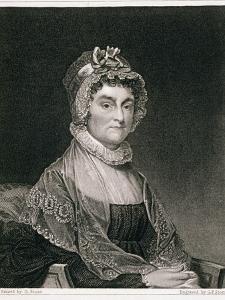 Abigail Adams by Gilbert Stuart
