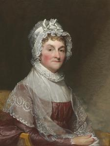 Abigail Smith Adams (Mrs. John Adams), 1800-15 by Gilbert Stuart