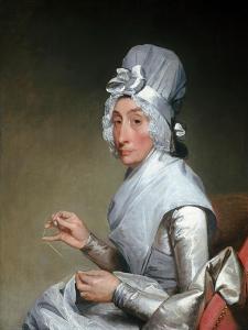 Catherine Brass Yates (Mrs. Richard Yates) by Gilbert Stuart by Gilbert Stuart