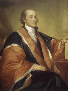 Chief Justice John Jay by Gilbert Stuart
