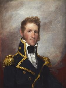 Commodore Thomas Macdonough, c.1815-8 by Gilbert Stuart