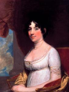 Dolley Payne Madison (Mrs. James Madison) by Gilbert Stuart