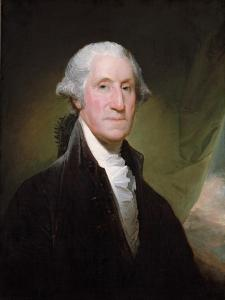 George Washington (1732-99) by Gilbert Stuart