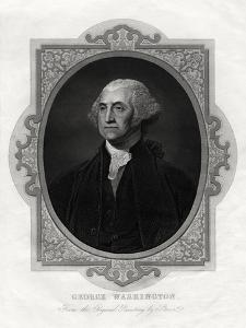 George Washington, First President of United States, 1877 by Gilbert Stuart