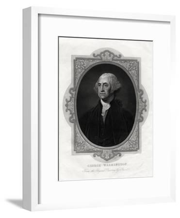 George Washington, First President of United States, 1877